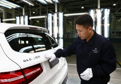 Mercedes-Benz GLC SUV Production Starts In China