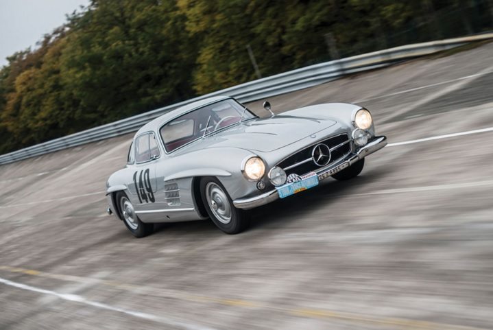 Mercedes-Benz 300 SL 'Sportabteilung' Gullwing To Be Auctioned
