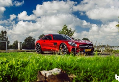 Check Out This Red Mercedes-AMG GT Captured By Ben Frasen