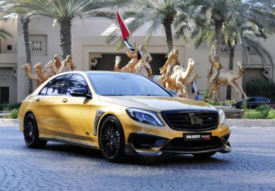 Brabus Rocket 900 Desert Gold Edition Unveiled