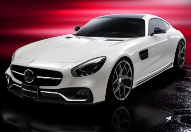 Mercedes-AMG GT Styling Package Previewed By Wald International