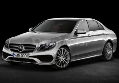 Upcoming Mercedes-Benz E-Class Sedan Digitally Rendered