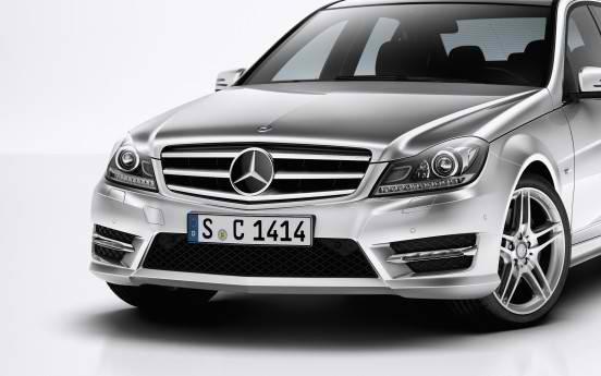 18 Inch Gunmetal Mercedes Benz AMG Style Wheels Rims 1