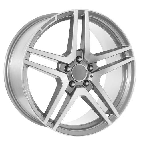 18 Inch Gunmetal Mercedes Benz AMG Style Wheels Rims