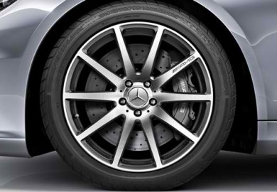 19 Inch Mercedes Benz Black AMG Style Wheels Rims 1