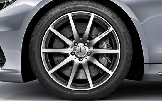 19 Inch Mercedes Benz Black AMG Style Wheels Rims 1