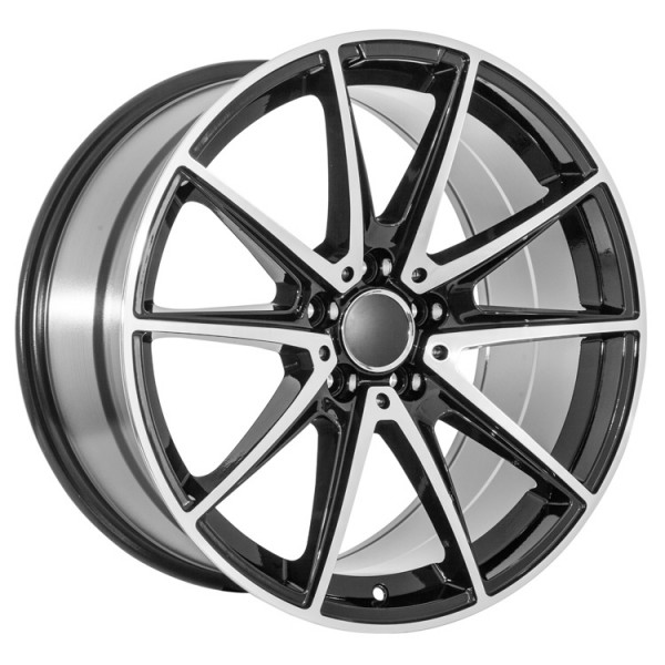 Cool oem style mercedes replica wheels for you for Mercedes benz 19 inch amg wheels