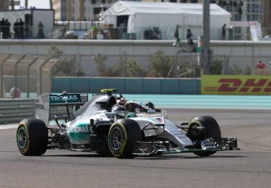 2015 Abu Dhabi GP - Mercedes - Nico Rosberg