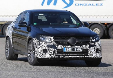 Mercedes-Benz GLC450 AMG Coupe Prototype Spotted