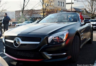 Mercedes-Benz SL 550 Mille Miglia 417 Edition Spotted At A US Event