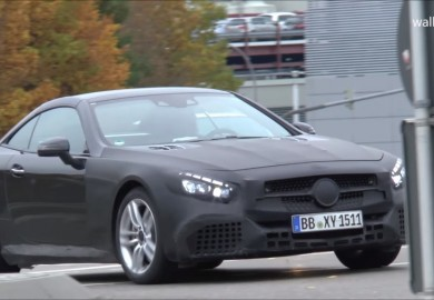 Camouflaged Mercedes-AMG SL63 Caught On Camera Again