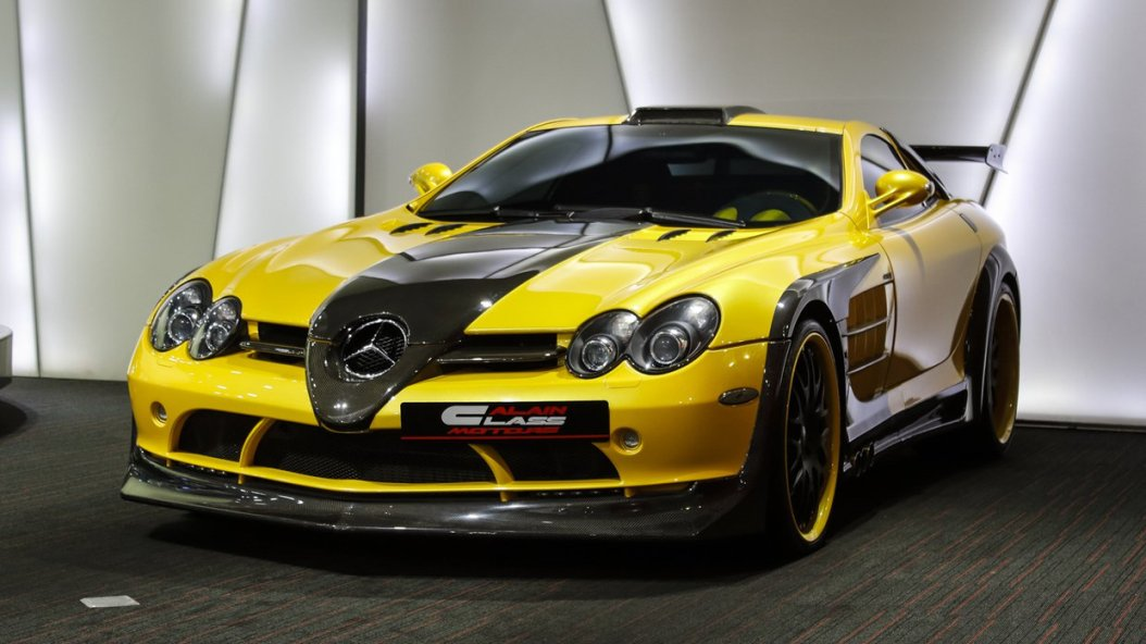hamann tuned mercedes benz slr mclaren available in dubai a mercedes benz. Black Bedroom Furniture Sets. Home Design Ideas