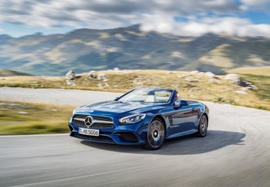 Official Pictures Of Updated Mercedes-Benz SL Released