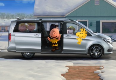 Mercedes-Benz V-Class Joins Snoopy And Charlie Brown