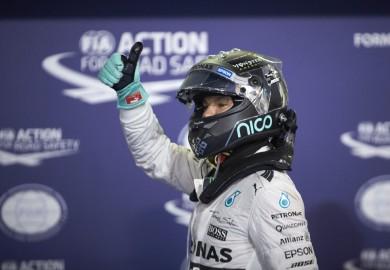 Mercedes F1 Nico Rosberg 2015 Abu Dhabi Grand Prix