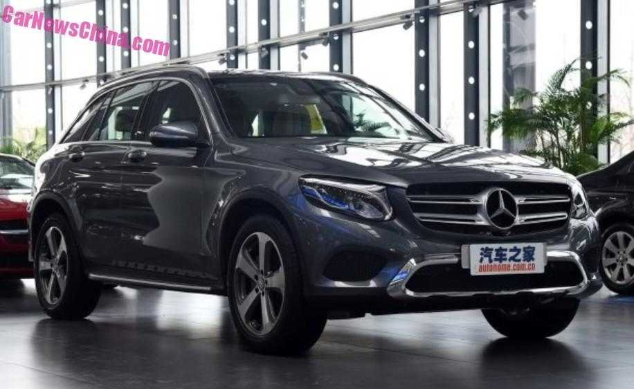 The Mercedes Benz Glc Hits Dealerships In China