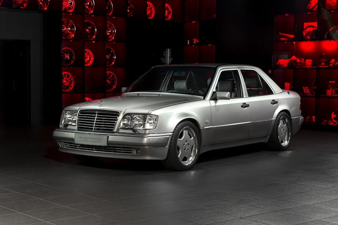 Overdrive restores interior of a 1993 mercedes benz e60 for Rare mercedes benz