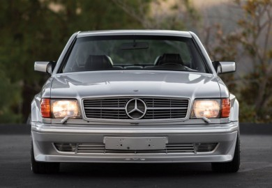 RM Sotheby's To Auction A 1989 Mercedes-Benz 560 SEC Wide Body