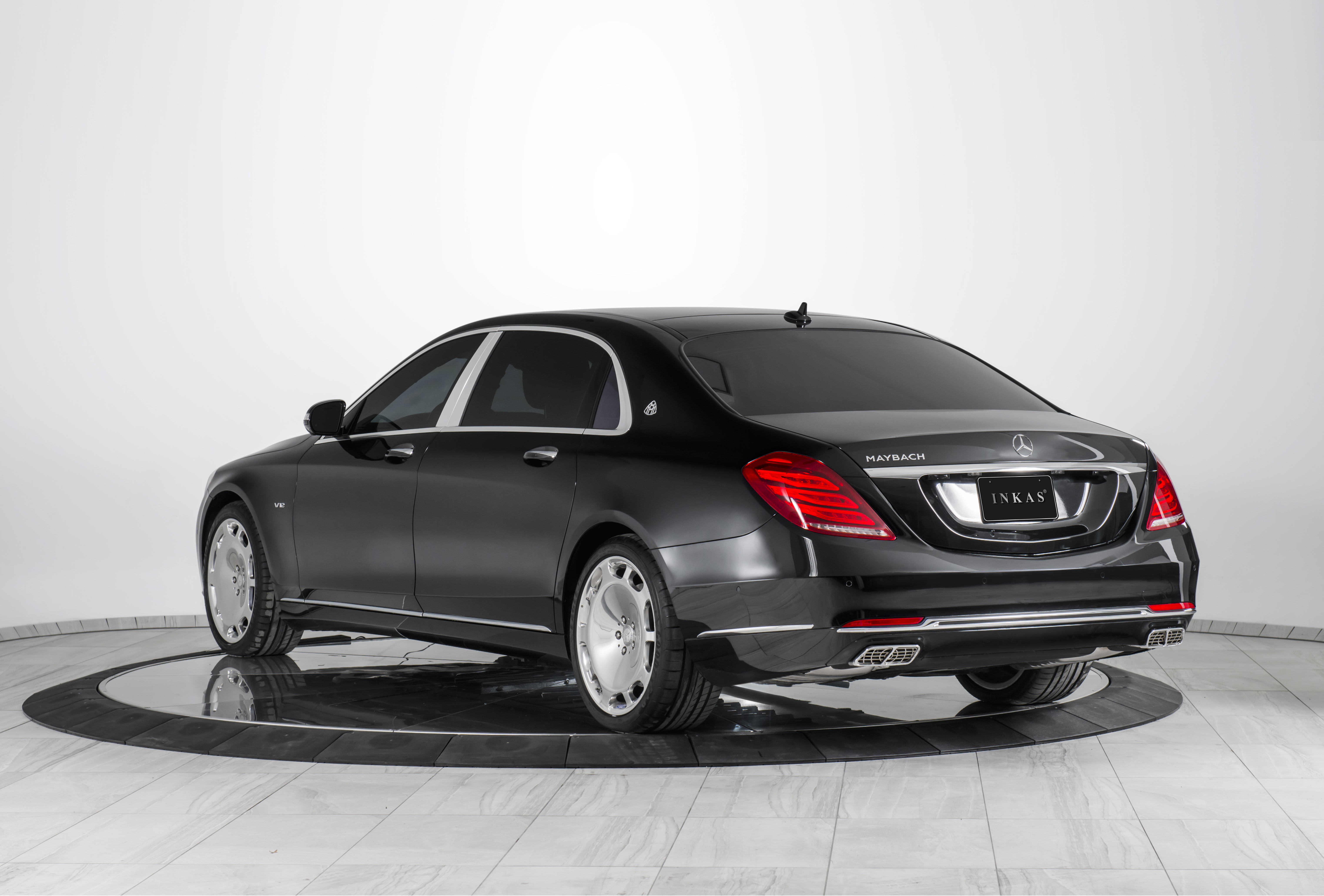 Inkas reveals its armored 2016 mercedes maybach s600 for Mercedes benz s 600 amg