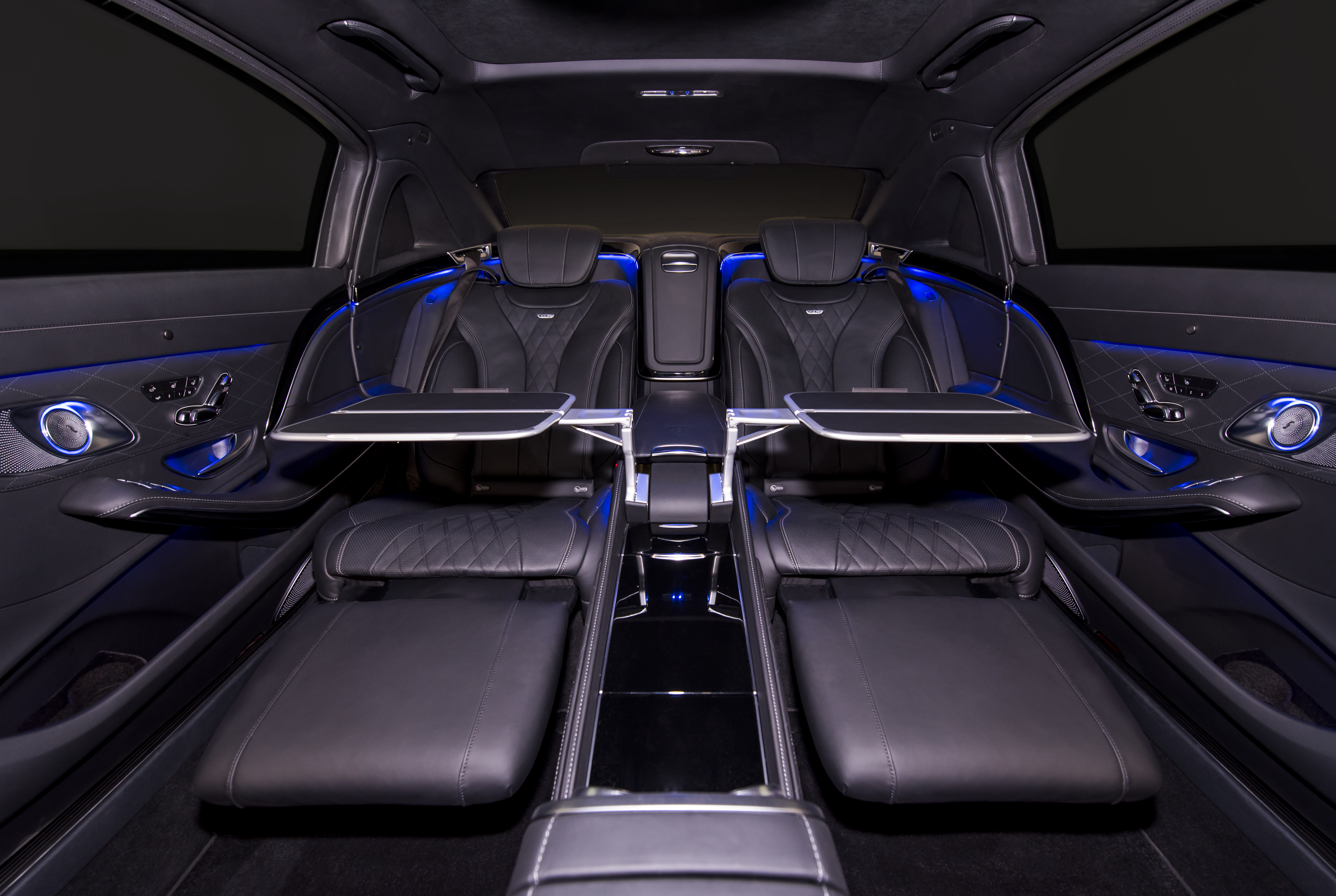 Inkas reveals its armored 2016 mercedes maybach s600 for Interieur 2016