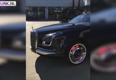 Strange-Looking Mercedes-Benz Royale 600 Seen Somewhere In California