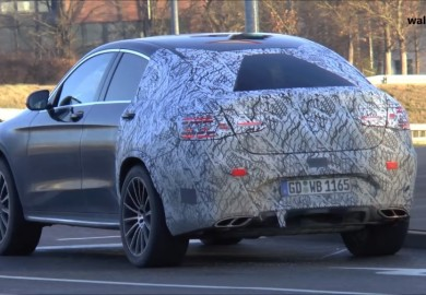 Mercedes-AMG GLC 450 Coupe Caught On Camera