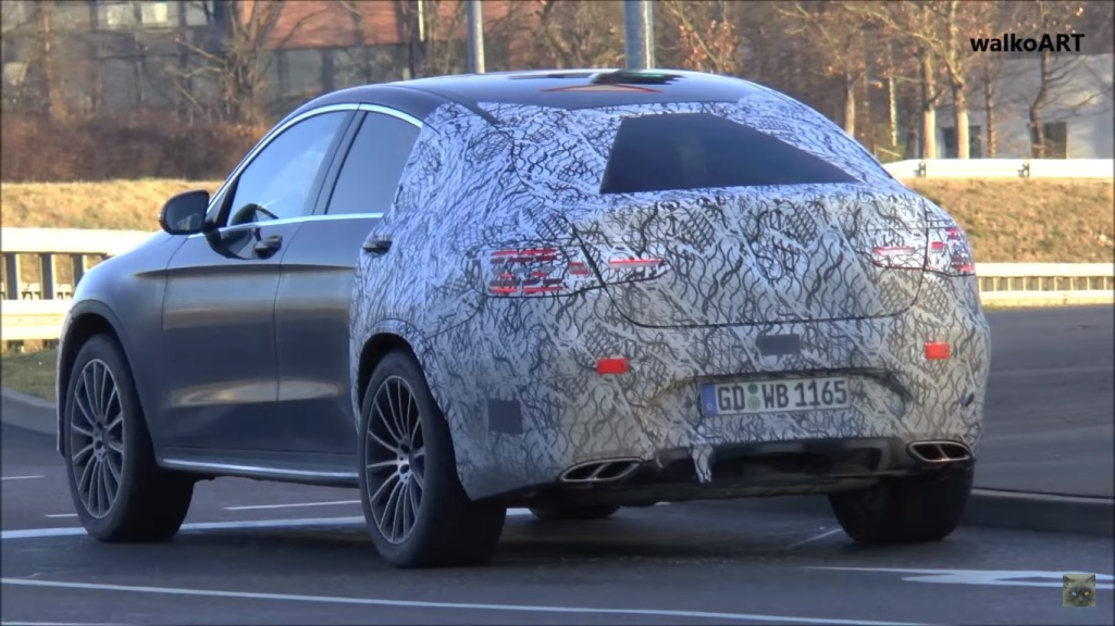 Mercedes-AMG GLC 450 Coupé caught in front of the camera