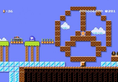 Mercedes Benz GLA Featured On Super Mario Maker