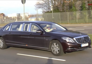 Mercedes-Maybach S600 Pullman Caught On Camera
