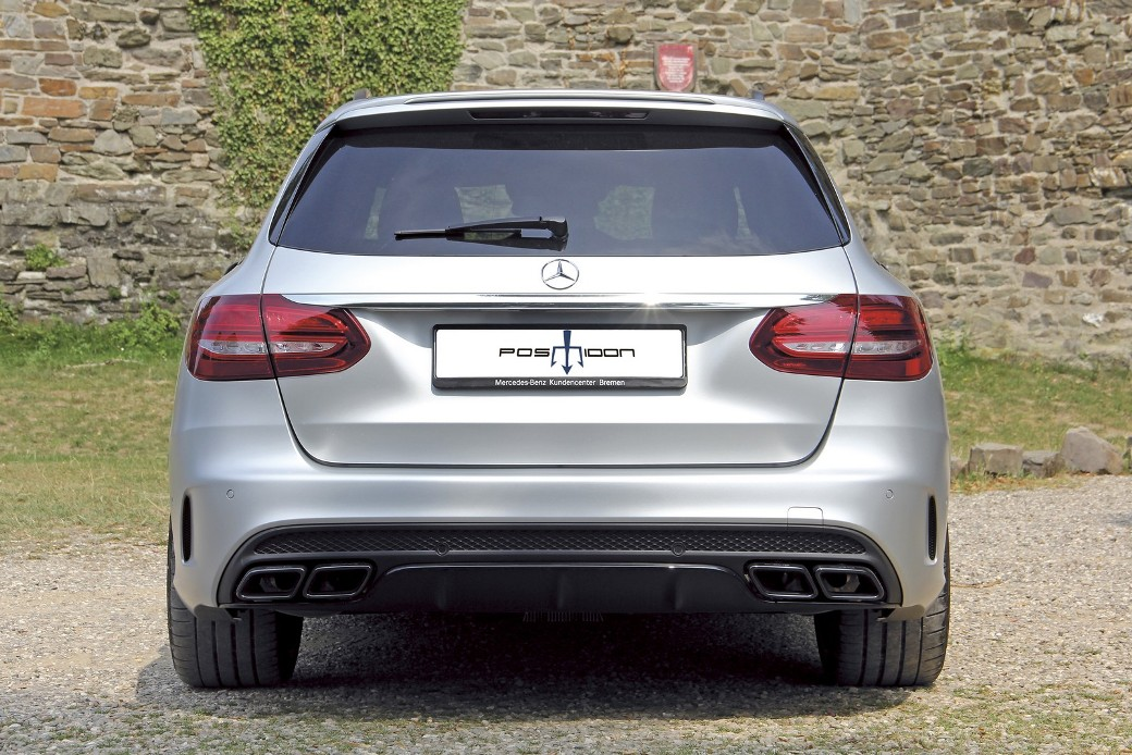 Posaidon increases the performance of the Mercedes-AMG C63 Estate
