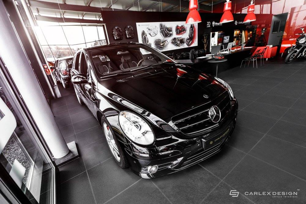 Rare Mercedes-Benz R63 AMG Fitted With Hippopotamus Nubuck Leather