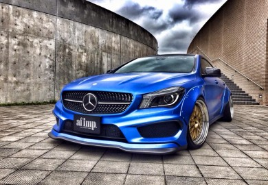 Check Out This Aggressive-Looking Mercedes-Benz CLA By Fairy Design
