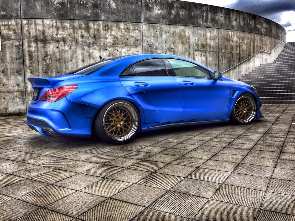 Check Out This Aggressive Looking Mercedes Benz Cla By