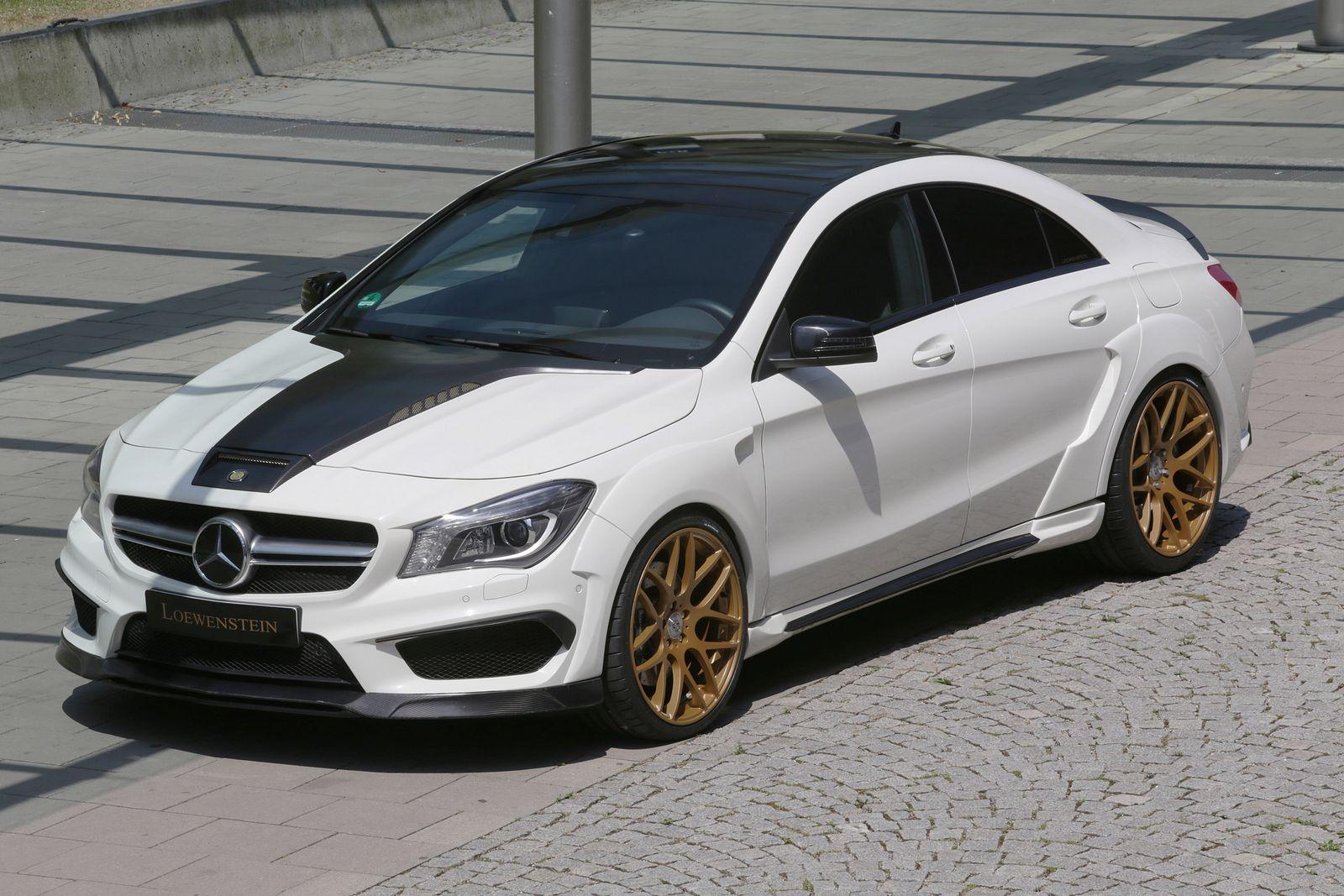 Mercedes Benz Cla >> Loewenstein Upgrades the Mercedes-AMG CLA 45