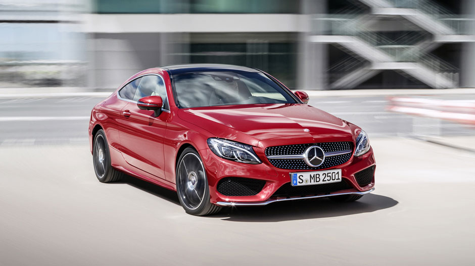 2017 mercedes benz c class coupe key specs pics video - Mercedes c class coupe specifications ...