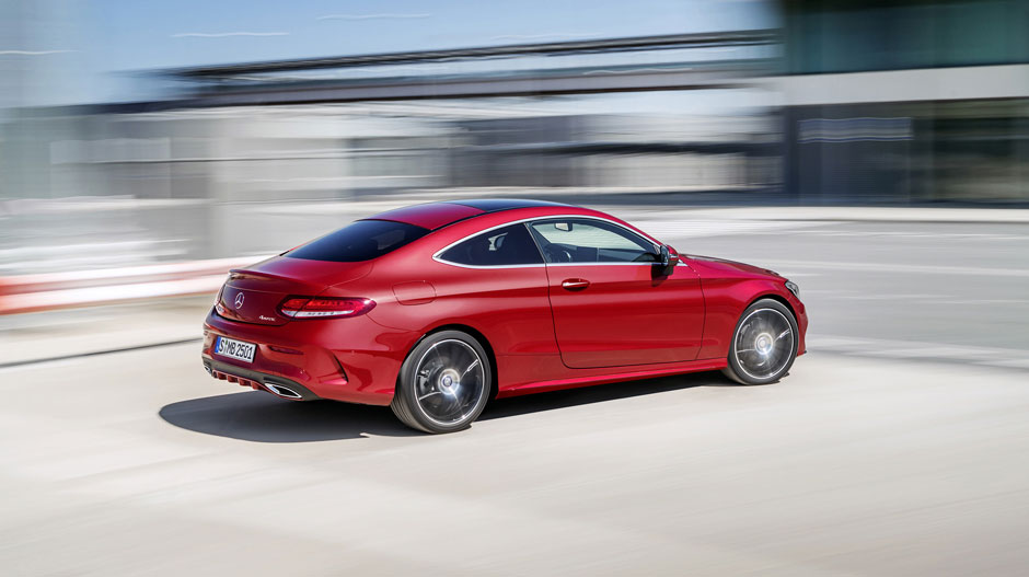 2017 mercedes benz c class coupe key specs pics video for Mercedes benz c350 horsepower