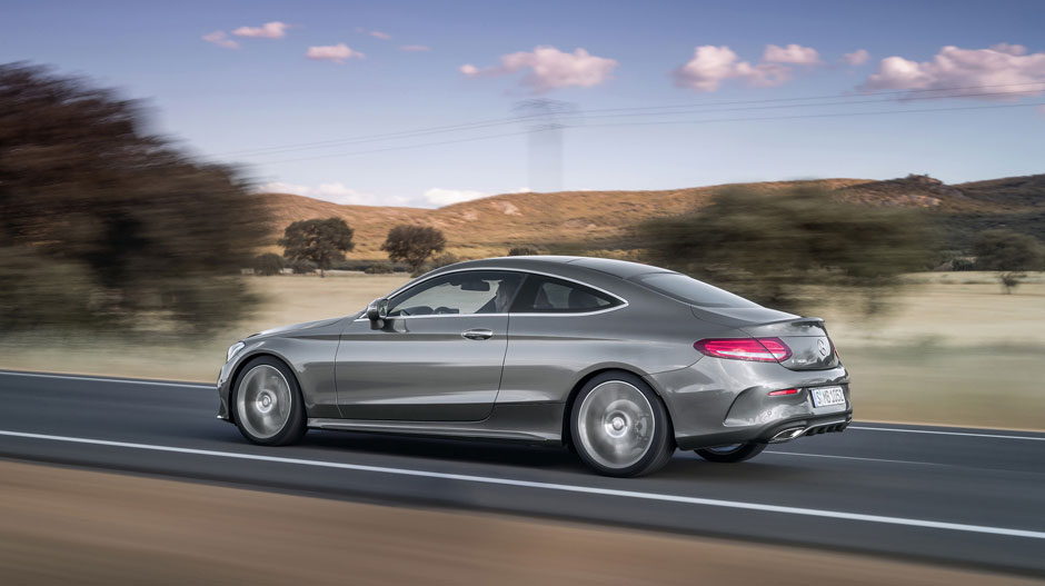 2017 MercedesBenz CClass Coupe Key Specs Pics Video