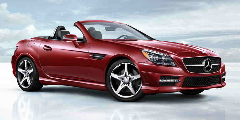 The mercedes benz slk features at a glance for Mercedes benz service b cost c300