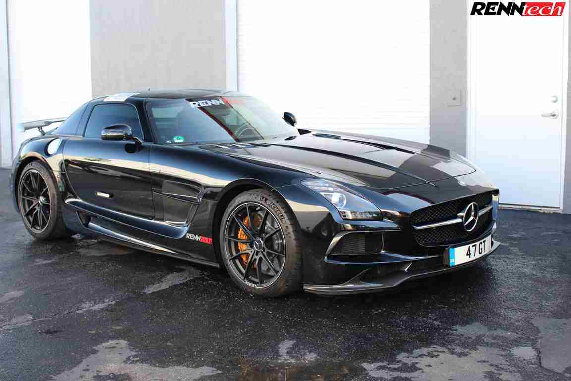 S63 2018 >> RENNtech Gives the Mercedes SLS AMG 613 PS