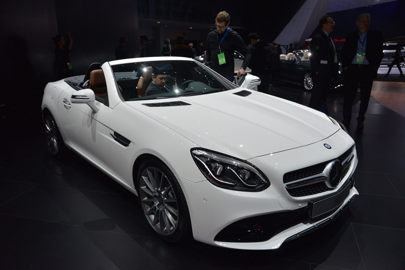 Topless 2017 Mercedes-AMG SLC Unveiled