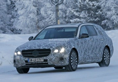 Pictures Of Mercedes-Benz E-Class Wagon Emerge Amid Rumors Of All-Terrain Version