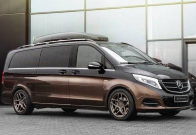Mercedes-Benz V-Class Interior Enhanced By Carlex Design