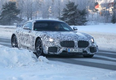 New Mercedes-AMG GT Caught On Camera Again