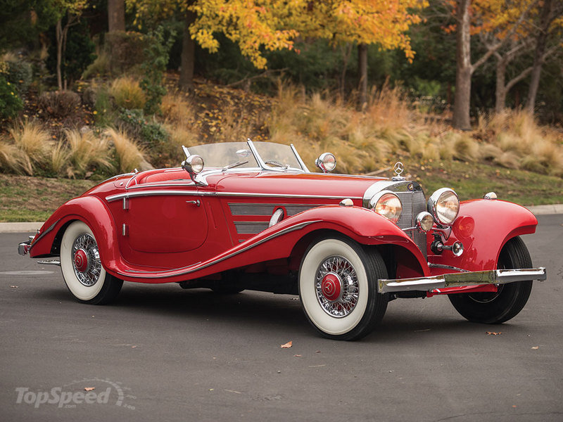 1937 mercedes benz 540k special roadster sells 9 6m for Mercedes benz car auctions