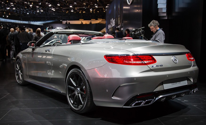 Mercedes-AMG S63 Cabriolet 130 Edition Revealed at NAIAS