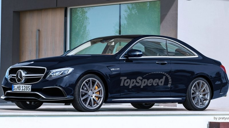 2017 Mercedes Benz E Class Coupe Rendering Spy Shots