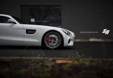 Matte Anthracite PUR Wheels Given To A Mercedes-AMG GT