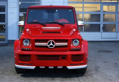 Top Car Introduces The Hamann Mercedes-Benz G63 Spyridon