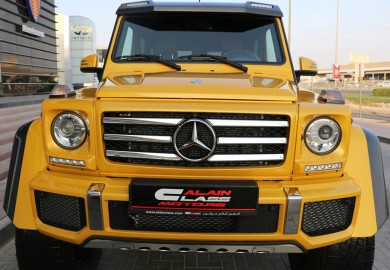 Alain Class Motors Receives First Mercedes-Benz G500 4×4²
