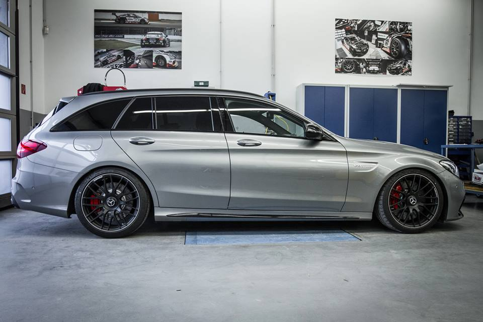 Mercedes amg c63 wagon tuned by mccip dkr benzinsider for Mercedes benz c63 amg wagon